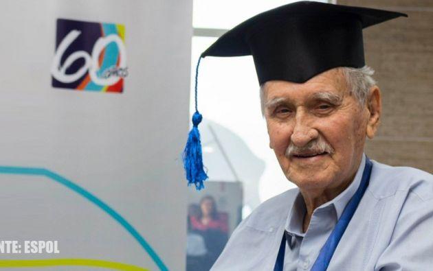 El fallecido exvicepresidnete nació en Guayaquil el 12 de agosto de 1936.