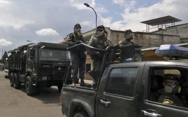 La mayor cantidad de multas (5.010) se han registrado en la provincia del Guayas. Foto: AFP