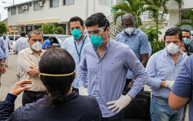 """El vicepresidente insistió en que el aislamiento """"sigue siendo"""" la """"mejor vacuna"""". Foto: EFE"""