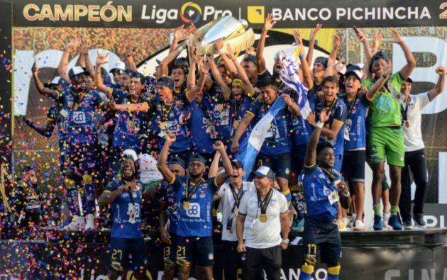 Delfín SC es el actual monarca del fútbol ecuatoriano. Según se pudo conocer, los clubes pedirían la reducción de hasta la mitad de los salarios.