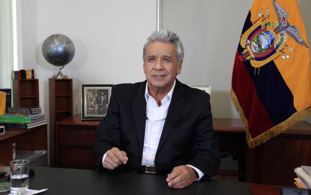 """Tanto por la pandemia del COVID-19, como por las repercusiones a causa de la caída del precio del petróleo, el presidente de la República, Lenín Moreno, considera """"Ecuador enfrenta el momento más crítico de su historia""""."""