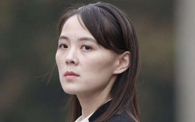 KimKim Yo-jong la hermana del dictador de Corea del Norte. Foto: AFP