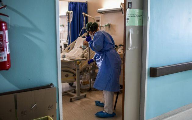 Desde el comienzo de la epidemia se contabilizaron más de 2.571.880 casos de contagio.  Foto: AFP