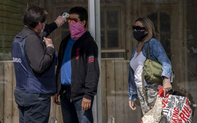 """""""Este virus nos acompañará durante largo tiempo"""". Foto: AFP"""