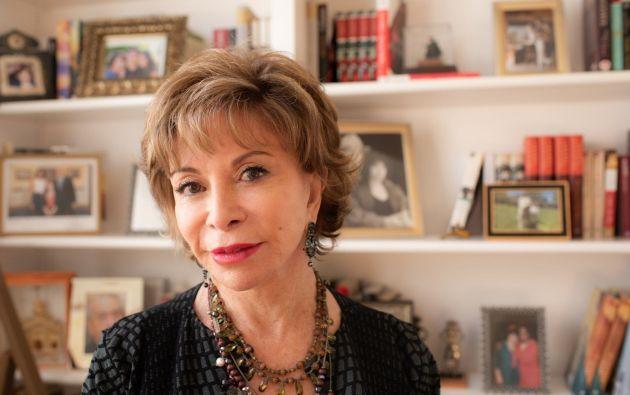 """La escritora Isabel Allende es muy optimista. No le gustar pensar que venga una """"distopía"""" después de la crisis, sino que se aproveche """"este período de reflexión"""" para cambiar muchas cosas."""