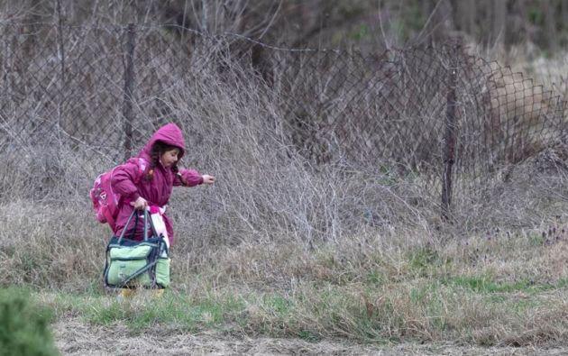 ACNUR advierte del aumento de los abusos a mujeres y niñas refugiadas. Foto: EFE.