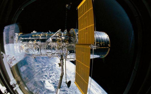 Telescopio espacial Hubble. Foto: NASA (twitter).