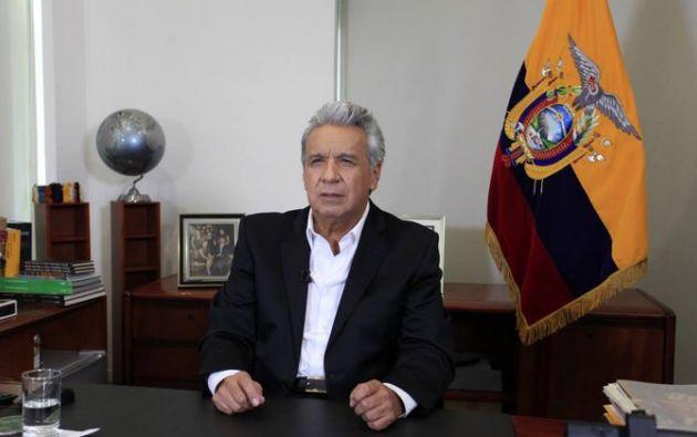 El presidente de la República, Lenín Moreno, advierte que las medidas serán cambiadas si la cooperación ciudadana no contribuye a la reducción de contagio de COVID-19.