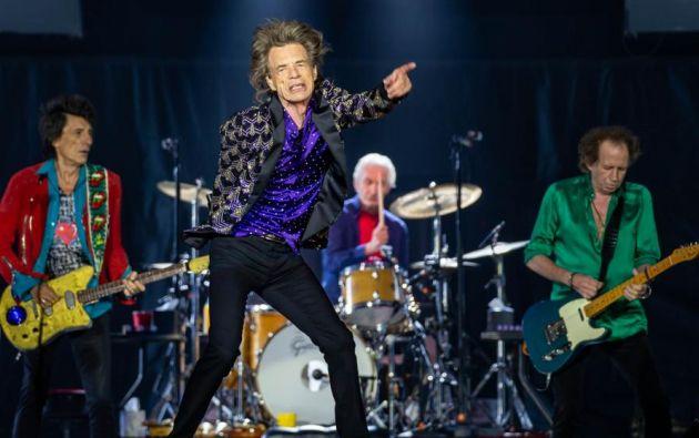 """Los Rolling Stones participaron en el evento televisivo One World Together At Home, """"para """"lograr un momento de unidad mundial en la lucha para acabar con COVID-19""""."""