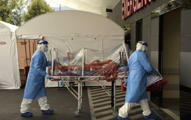 El país registra más de 20.000 personas infectadas, según información de las autoridades.