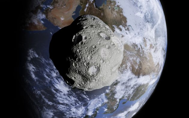 """Según informó la NASA, no hay riesgo de impacto, aunque advirtió que el """"lo suficientemente grande como para causar efectos globales""""."""