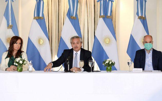 Presidente de Argentina, Alberto Fernández. Foto: Reuters.