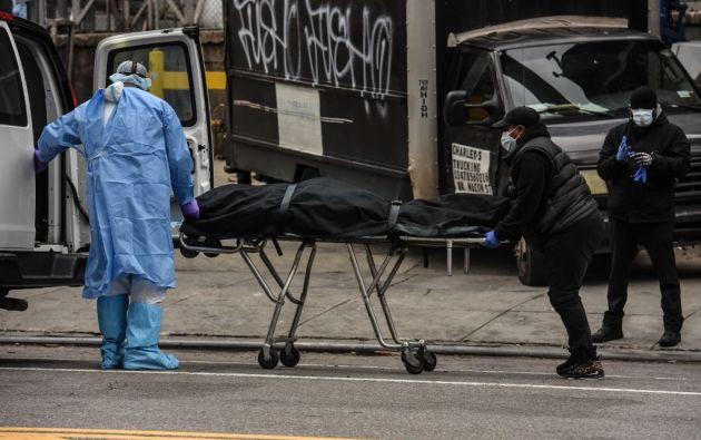 Desde el comienzo de la epidemia se contabilizaron más de 3.030.240 casos de contagio. Foto: AFP