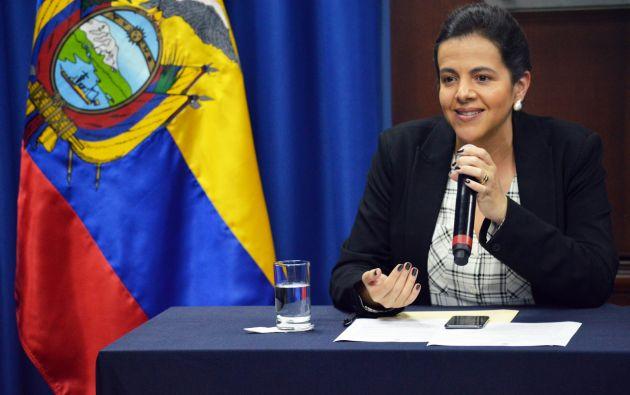 La ministra de Gobierno, María Paula Romo, resaltó que los alcaldes no pueden tomar medidas diferentes, únicamente deciden sobre el color del semáforo para la emergencia en su ciudad.
