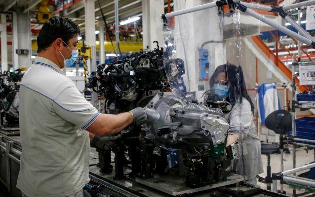 El Instituto Ecuatoriano de Seguridad Social otorga beneficios al afiliado por riesgos del trabajo. Foto: AFP