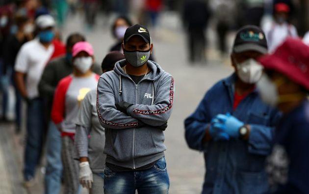 Algunas de las medidas parecen evitar un mayor repunte de la curva de contagios de coronavirus en Quito. Foto: EFE