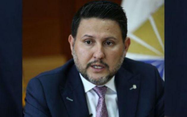 Ministro de Transporte y Obras Públicas de Ecuador, Gabriel Martínez. Foto: EFE.
