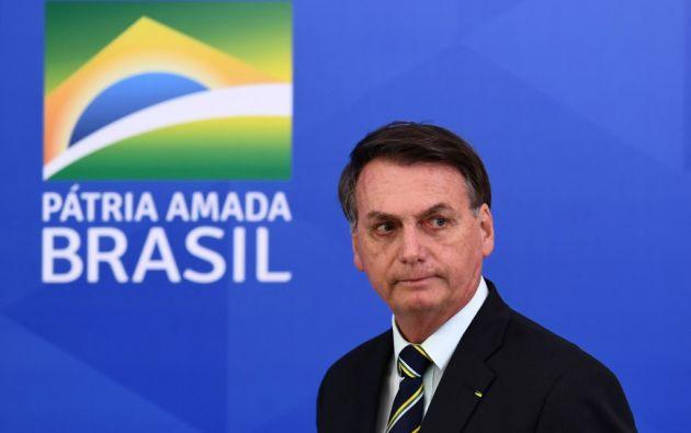 """""""¿Qué quieren que haga qué? Soy Messias [por su segundo nombre], pero no hago milagros"""", afirmó Bolsonaro. Foto: AFP"""