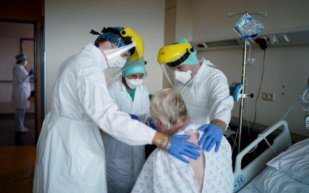 Desde el comienzo de la epidemia se contabilizaron más de 3.264.200 casos de contagio.  Foto: AFP