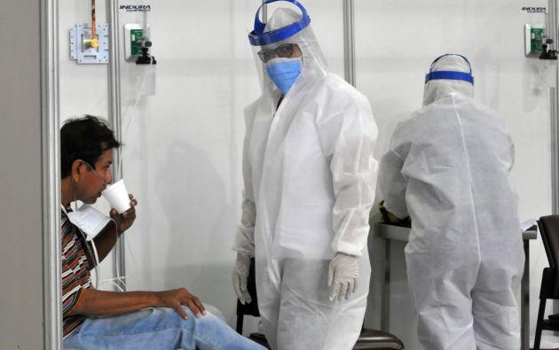 1.913 pacientes se han recuperado. Foto: AFP