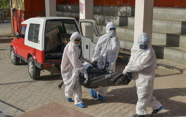 Desde el comienzo de la epidemia se contabilizaron más de 3.521.600 casos de contagio. Foto: AFP