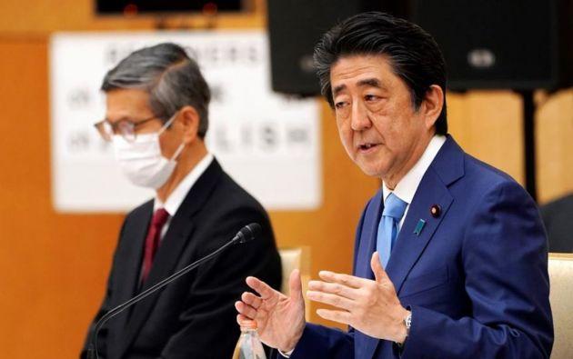 Primer Ministro de Japón, Shinzo Abe. Foto: EFE.