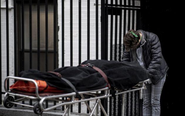 Desde el comienzo de la epidemia se contabilizaron más de 3.595.970 casos de contagio. Foto: AFP
