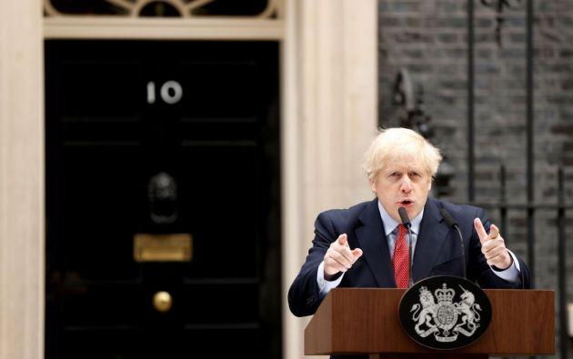 Primer ministro del Reino Unido, Boris Johnson. Foto: Reuters.