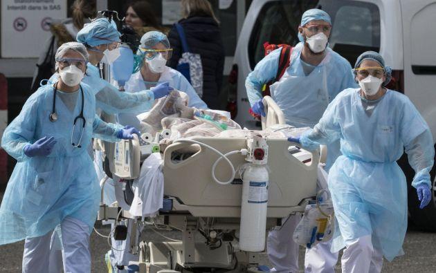 """""""El coronavirus solo ha aumentado el número de esas amenazas"""". Foto: AFP"""