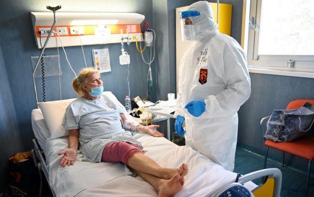 Científicos italianos aseguran que la pandemia se observa menos grave en Italia, pero todavía no identifican las causas. Foto: AFP.