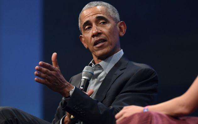 El expresidente Barack Obama cuestionó la gestión de Donald Trump durante la pandemia. Foto: AFP.