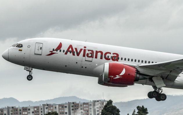 Los ingresos consolidados de Avianca se han reducido en un 80%. Foto: AFP.