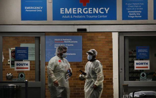 El gobernador Cuomo dijo que al menos 73 niños en el estado de Nueva York habían desarrollado esta enfermedad, similar a la de Kawasaki. Foto: AFP.