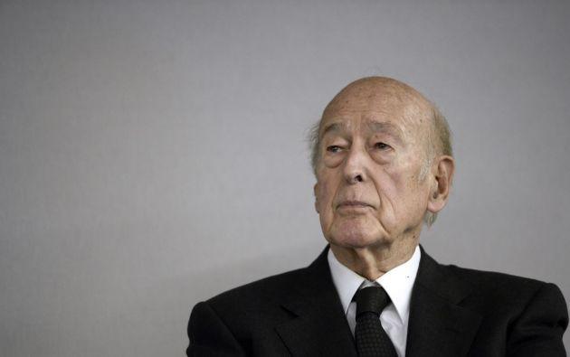 Giscard d'Estaing, expresidente francés. Foto: AFP.
