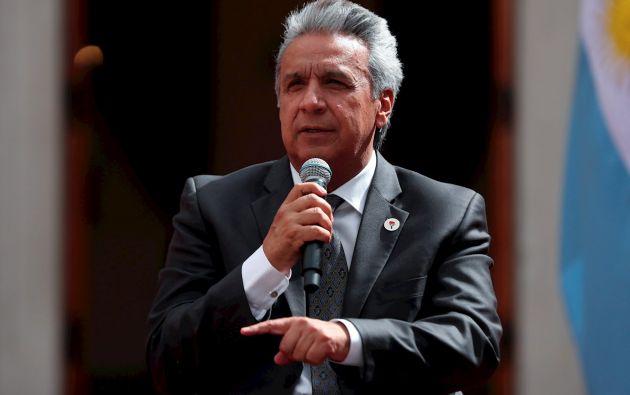 """El presidente de la República, Lenín Moreno, firmó los decretos ejecutivos 1043 -1044 - 1045 - 1046 en el marco de una """"optimización"""" del Estado."""