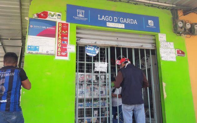 Según las cifras del MIES, se encuentran habilitados 1426 puntos de pago en las parroquias urbanas de Guayaquil y 95 en las rurales. Mientras que para Durán y Samborondón están habilitados 98. Los puntos de pago agrupan entidades bancarias y corresponsales no financieras ubicadas en comercios barriales.