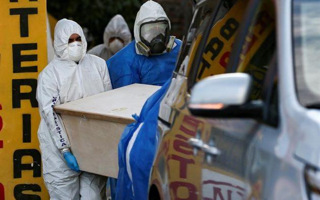 Guayas superó la barrera de los 12.000 contagiados este miércoles. Foto: EFE