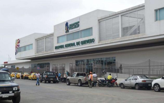 El allanamiento al Hospital General de Quevedo del IESS se dio por la denuncia del gobernador provincial, Camilo Salinas, de una presunta compra de insumos médicos con sobreprecio.