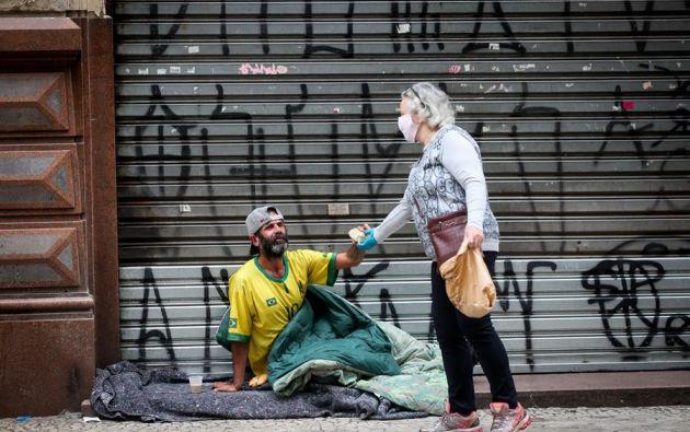 Brasil, epicentro latinoamericano de la pandemia, encara el creciente avance de la enfermedad. Foto:EFE