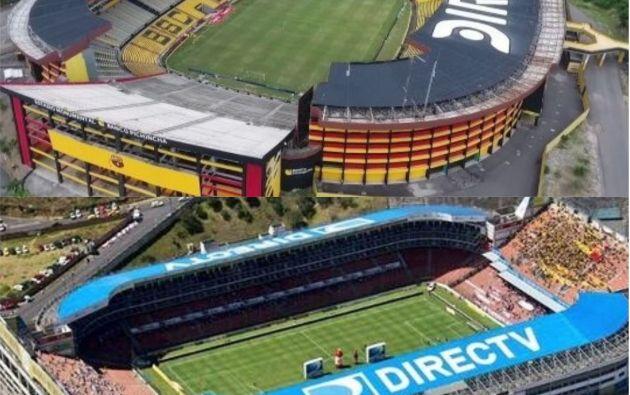 Ecuador contará con la postulación de dos ciudades. Guayaquil competirá para albergar la final de Copa Libertadores en el Monumental Banco Pichincha. Quito disputará la sede por la final de la Copa Sudamericana en el Estadio Rodrigo Paz Delgado.