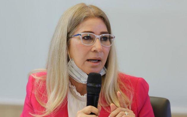 Cilia Flores, esposa del presidente venezolano, Nicolás Maduro. Foto: EFE.