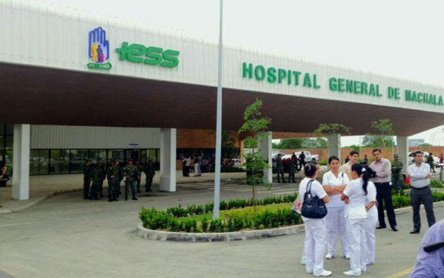 Presuntos sobreprecios en compra de insumos en Hospital del IESS de Machala.