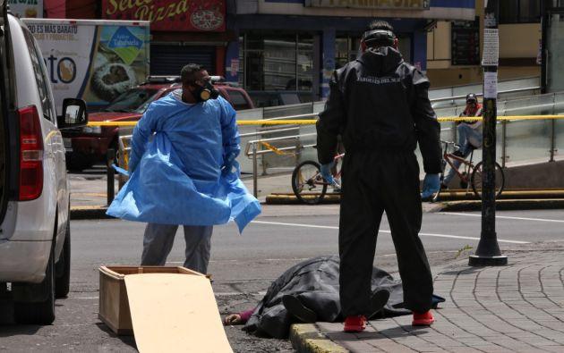 Por provincias, la de Guayas sigue con la mayor incidencia de la pandemia, con 13.097 positivos. Foto: AFP