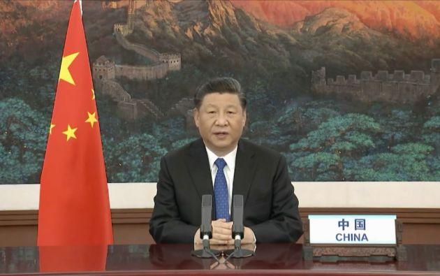 Presidente de China, Xi Jinping. Foto: AFP.