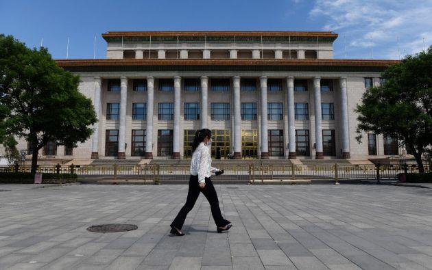 En el marco solemne del Palacio del Pueblo, sede del parlamento chino en Pekín, el régimen podrá anotarse un punto en su guerra ideológica con Occidente.