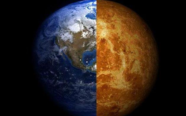Tanto Venus como la Tierra tienen un tamaño muy similar y comparten masa y volumen.
