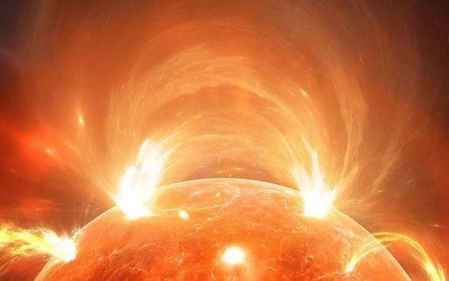 El Sol experimenta naturalmente cambios en la producción de energía