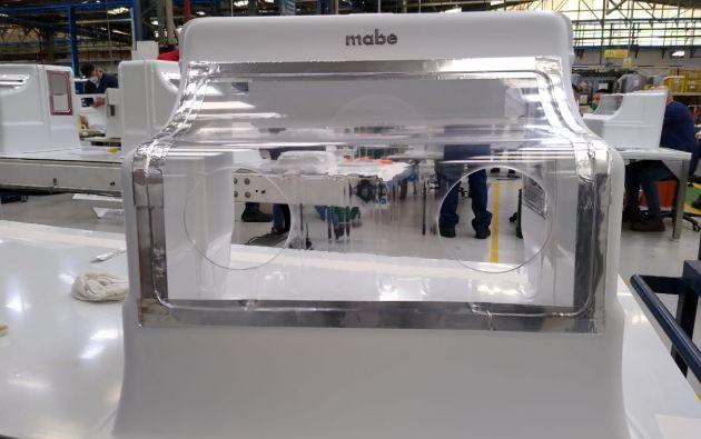 El aerobox de Mabe.