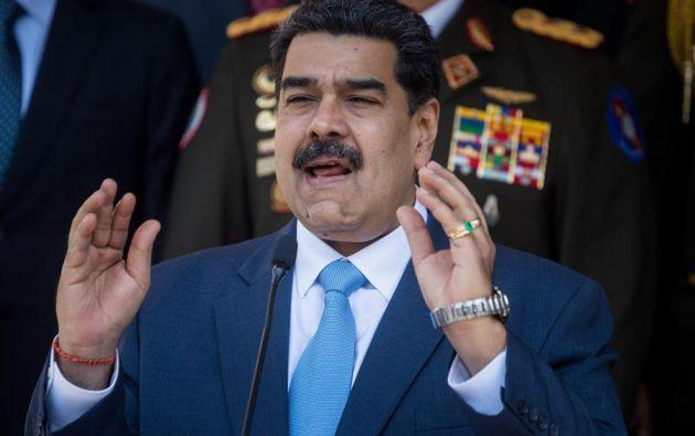 Maduro ordenó pruebas de misiles en aguas de Venezuela a la espera de buques de Irán. Foto: EFE.