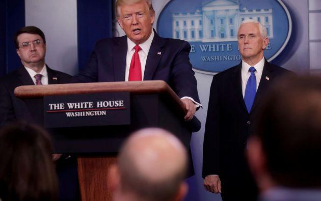 Presidente de Estados Unidos, Donald Trump. Foto: Reuters.